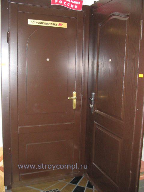 установка металлической двери с домофоном г щелково